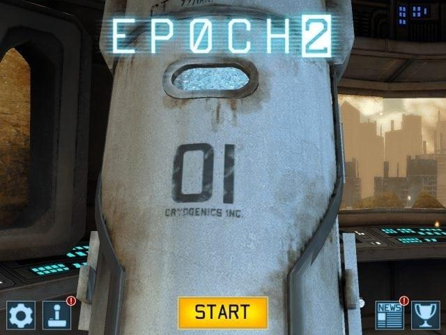 EPOCH 2 Free iPhone iPad iPod touch ios start menu