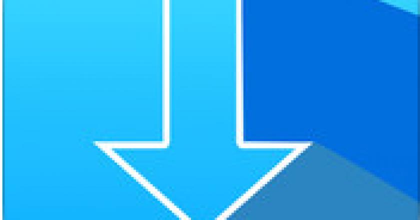 Blue Downloader icon