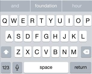 enable predictive keyboard ios 8