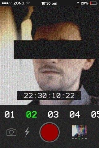 funny anti-selfies app iphone russian language black censored bar