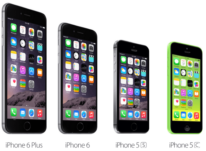 Iphone 5s Size Comparison