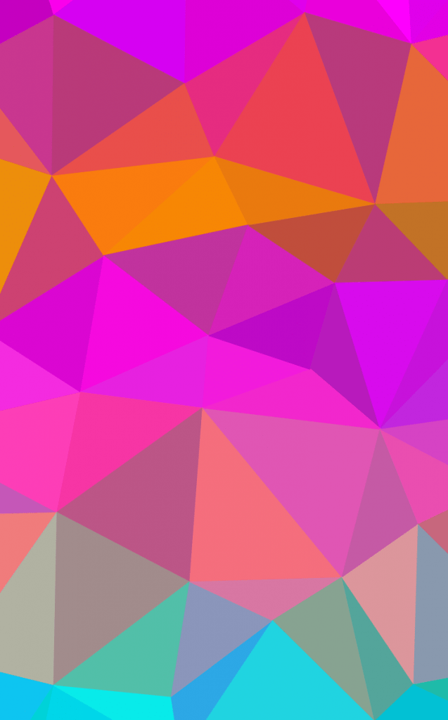 polygon wallpaper generated by iphone 4