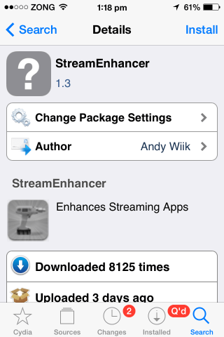 streamenhancer block ads remove restrictions premium content video streaming apps iphone