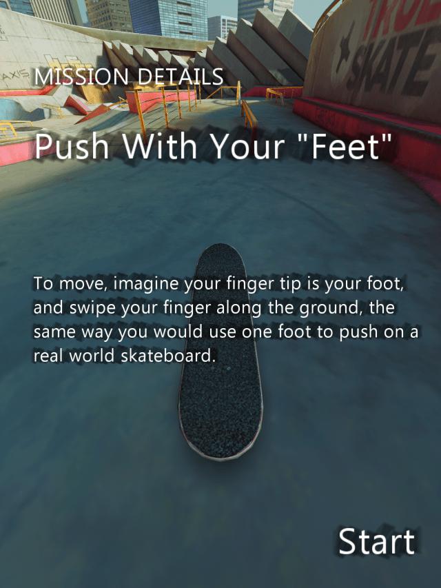 true skate free skating game for iphone ipad ios tutorial