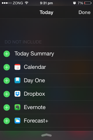 how to add widgets in ios 8 today