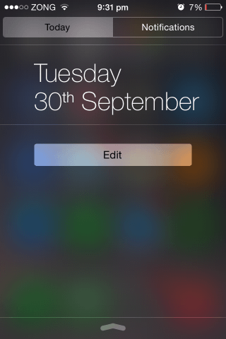 how to add widgets in ios 8