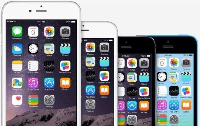 iPhone 6 screen size comparison