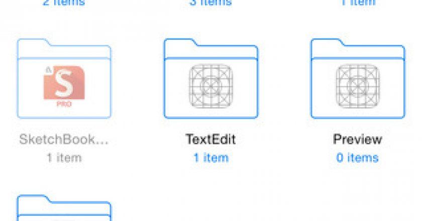 Cloud Explorer dedicated iCloud Drive app