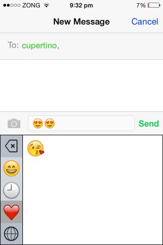 emoji++ keyboard ios 8 favorites