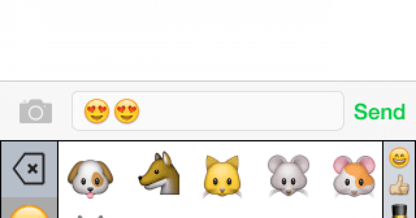 emoji++ keyboard ios 8 smart category