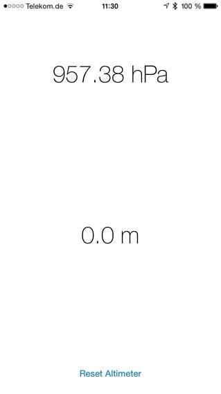iphone 6 barometer app free