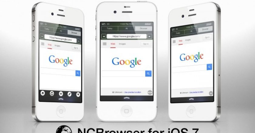 browser widget for iphone notification center
