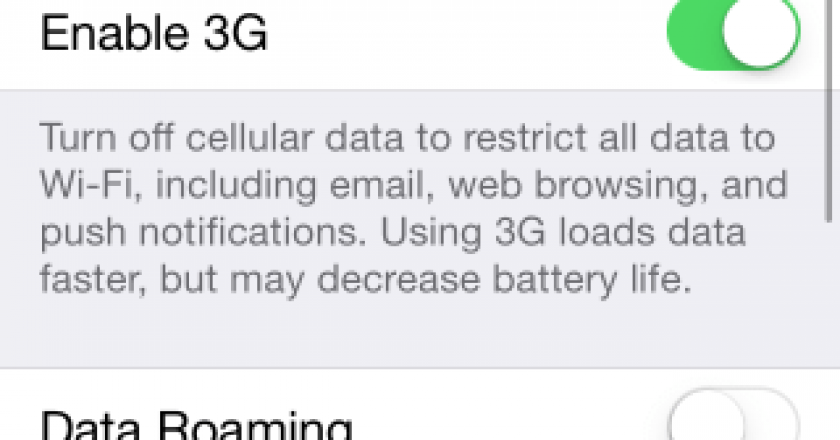 automatically disable cellular data