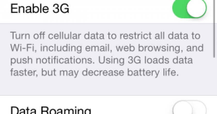 automatically disable cellular data