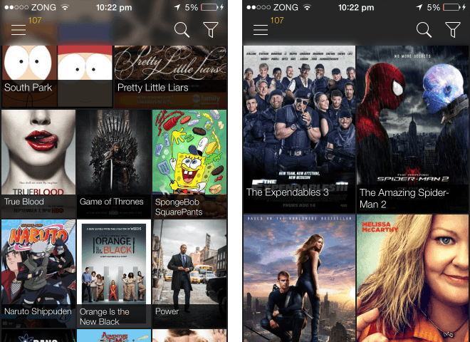 moviebox main menu