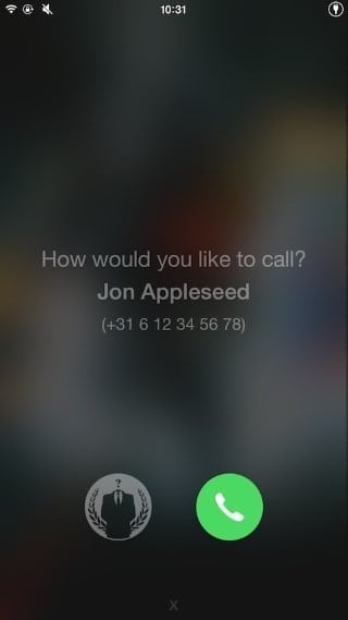 callenhancer confirm before making phone calls iphone