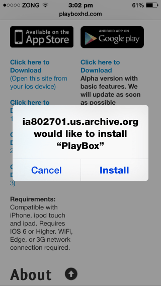 MovieBox Stopped Working? Download PlayBox 1 3 For iOS 8
