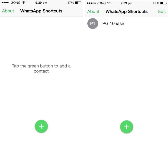 shortcuts for whatsapp plus app