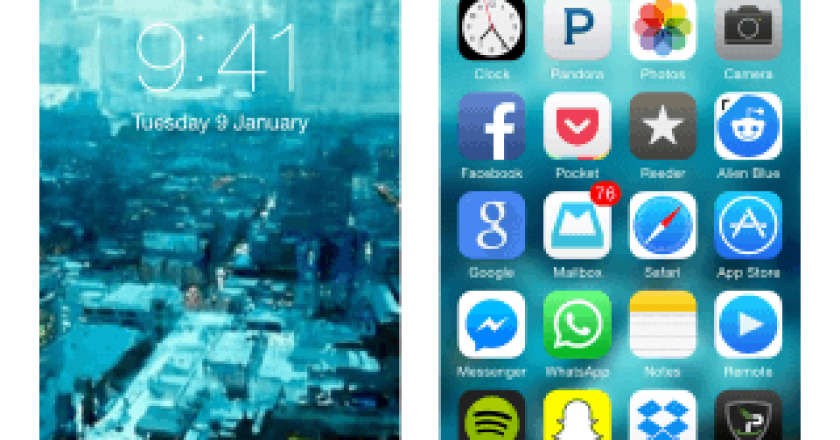 wallpapers ios 8 settings