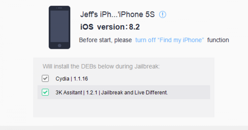jailbreak ios 8.2 beta 2 taig