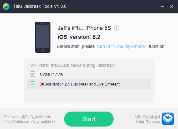How To Jailbreak iOS 8 2 Beta 2 With TaiG - CupertinoTimes