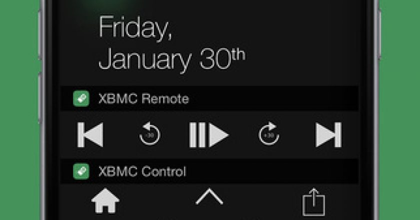 quick remote xmbc kodi widget ios