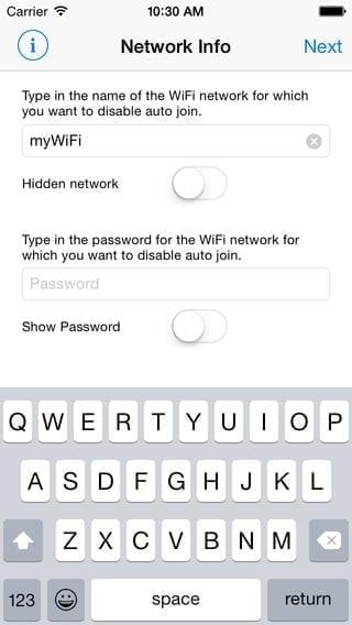 wifi priority ios 8 screenshot