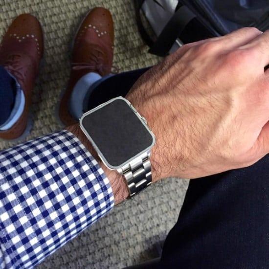 38mm vs 42mm Apple Watch size comparison