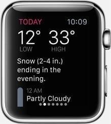 dark sky for apple watch