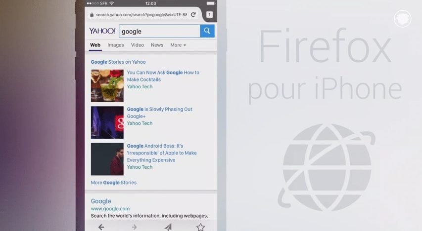 try out firefox for ios work in progress