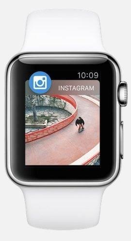 instagram for apple watch simulator