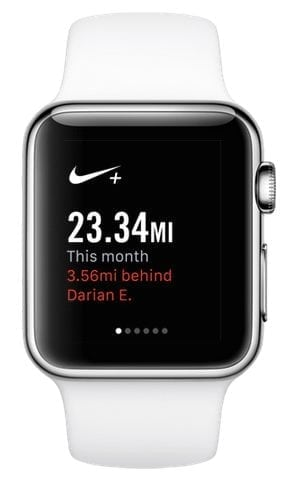 nike+ running apps for apple watch