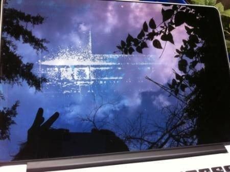 retina macbook pro display stains 1