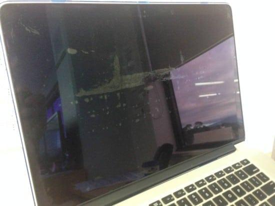 retina macbook pro display stains 2