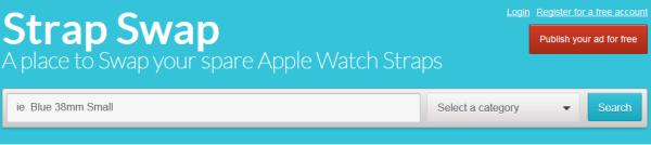 strapswap swap trade second apple watch band