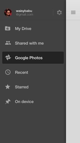 google drive auto backup photos ios