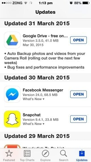 google drive auto backup update