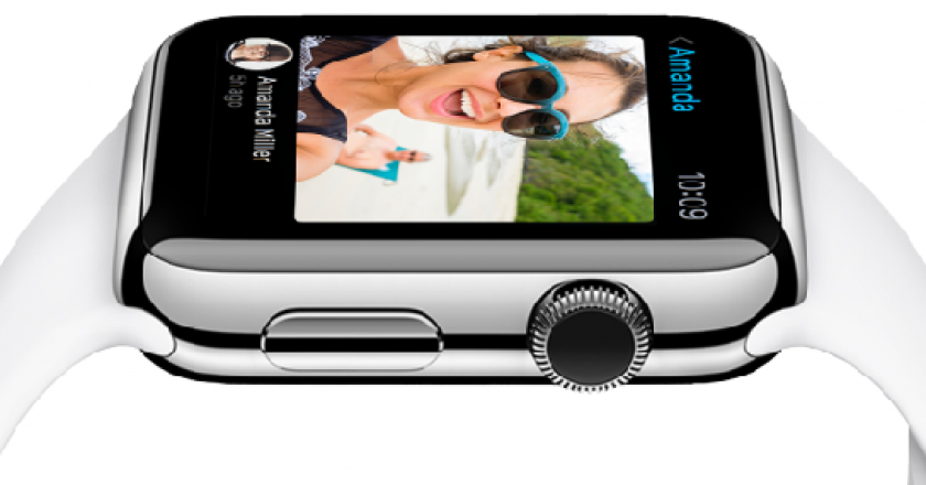 live video messages on Apple watch
