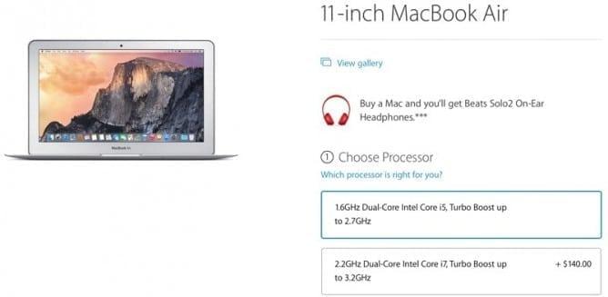 Apple's back to school sale