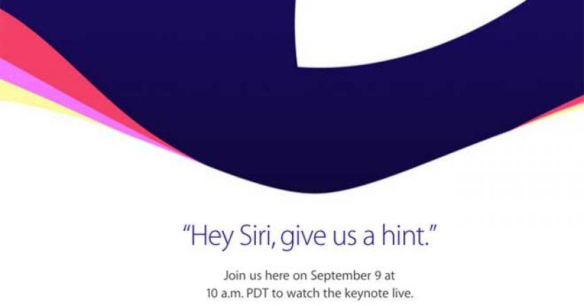 Apple Fall Event