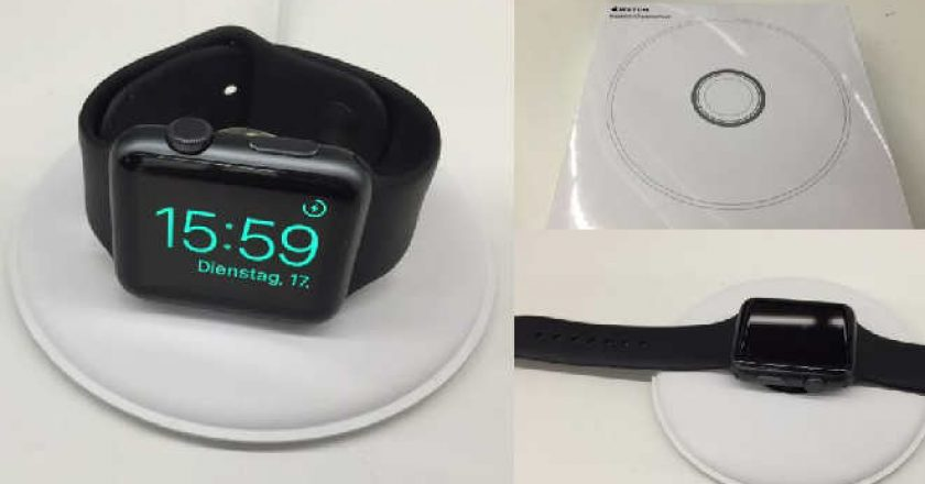 Apple Watch Charging Doc