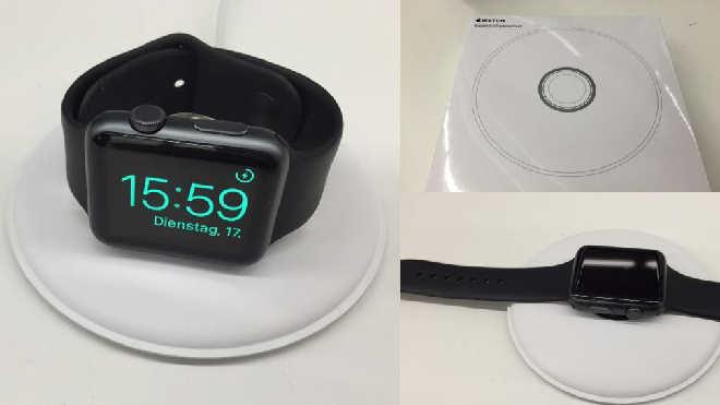Apple Watch Charging Doc