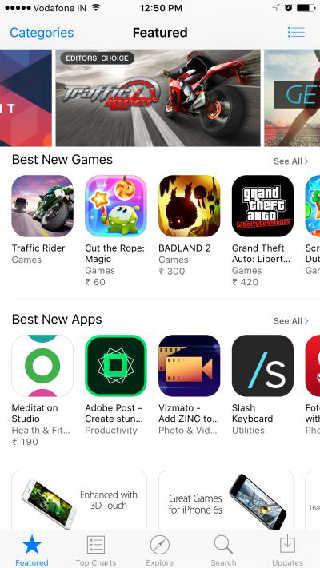 App Store Cache