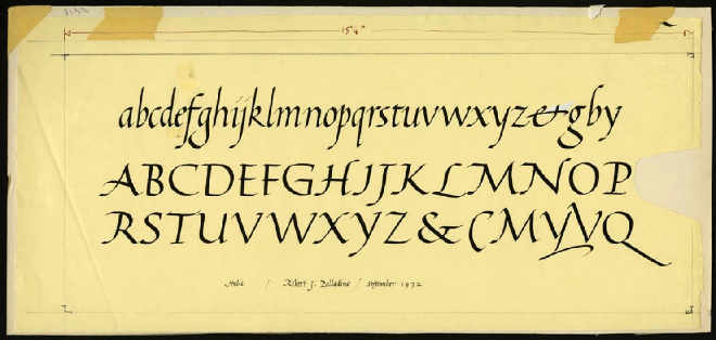 Robert palladino the trappist monk who inspired steve Calligraphy as a career