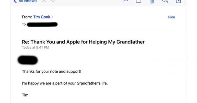Apple Customer