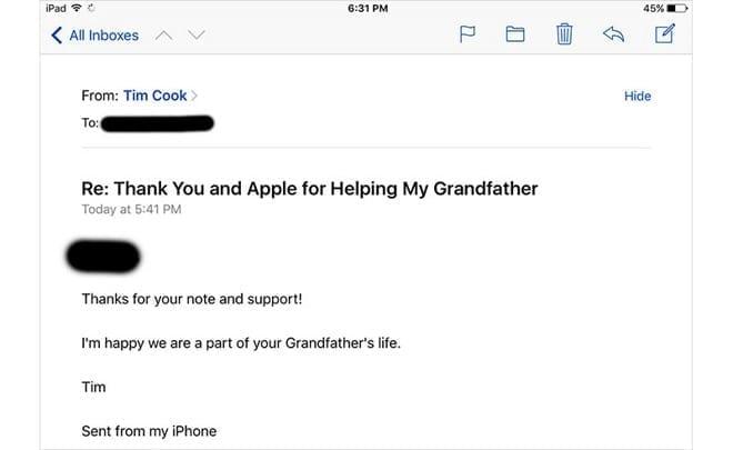 Apple Customer