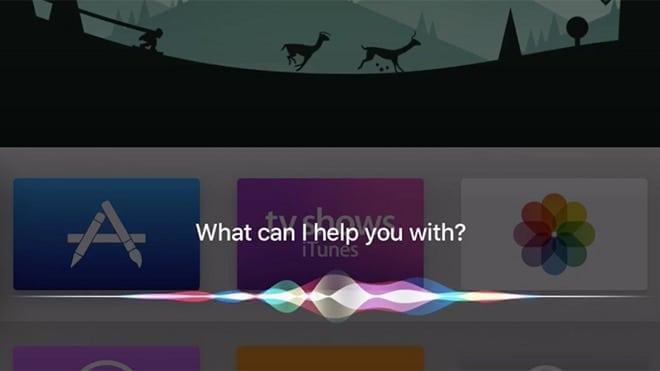 Siri for tvOS