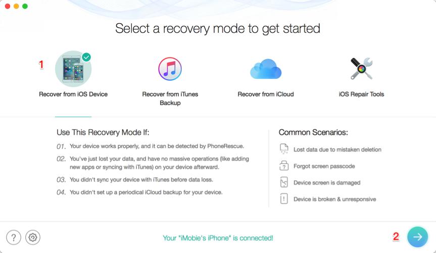 restore iphone xs/xs max, iphone xs, restore click to ios device, restore iphone, iphone xs/xs max