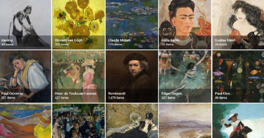 Arts & Culture app