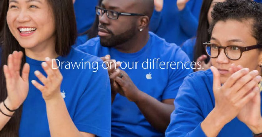 Apple workforce diversity pay equity